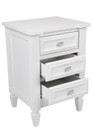 Merci Bedside Table - Small White (cl)