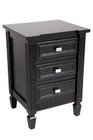 Merci Bedside Table - Small Black (cl)