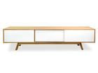 CTV362-BB 2.1m Entertainment TV Unit - Natural (cf)