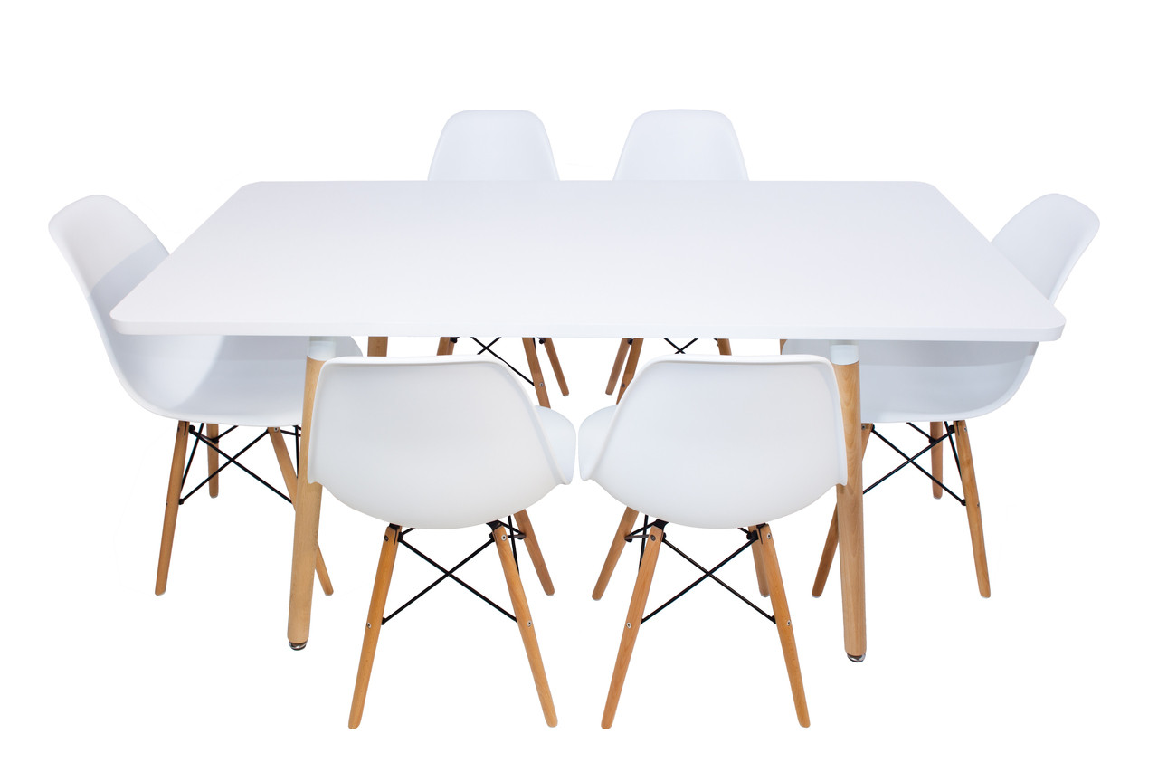 Replica Eames Dsw Chairs Plastic Black Steel Natural
