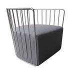 Replica Wire Sofa Armchair - Stainless Steel Frame