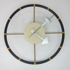 Replica George Nelson Steering Wheel Clock
