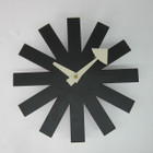 Replica George Nelson Black Asterisk Clock - black