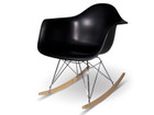 Replica Ray & Charles Eames RAR - Black Plastic