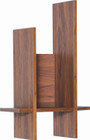 Fico Shelf Laminate Walnut 170 (iv)
