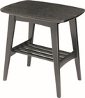 Hubie Side Table Blk Ash Veneer 114 (iv)
