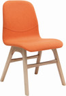 Alyssa Dining Chair Oak/Tangerine Fab (iv)