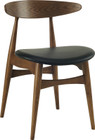 Tricia Dining Chair Walnut/Espresso (iv)