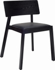 Winta Dining Chair Blk Open Pore/Espress (iv)