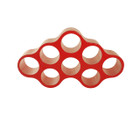 Replica The Playful Cappellini Cloud Shelf Unit - Red Fiberglass