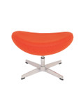 Replica Egg Footstool - Orange