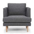 CLC2078 Armchair - Metal Grey (cf)