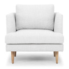 CLC2080 Armchair - Light Texture Grey (cf)