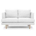 CLC2086 2 Seater Sofa - Light Texture Grey (cf)