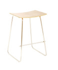 Replica Y Stool - Stainless Steel Frame with Various Seat Options