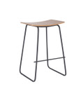 Replica Y Stool - Black Powder-Coated Frame with Various Seat Options