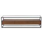 CTV893WAL-IG 1.5m TV Entertainment Unit - Walnut (cf)