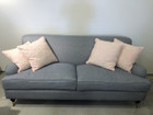 Carlton 3.5-seater - Premium Version 100% Natural Linen - Any Colour