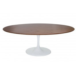 8fff49a5f78c Replica Tulip Oval Dining Table - Wood Top 160 to 200cm