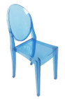 Replica Victoria Ghost Chair - Transparent Dark Blue
