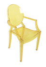 Replica Louis Ghost Chair - Transparent Yellow