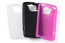 F-03D Silicone cover + Screen protector set