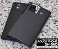 Sharp SH-06D Hard Black Cover / Case