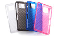 SH-06D Kira-Kira Soft Cover + Screen protector set
