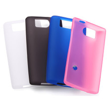 SH-09D Soft Cover + Screen protector set