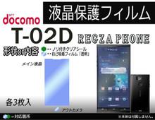 Toshiba T-02D Screen Protector set