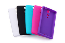 SO-04D Silicone Cover + Screen protector set