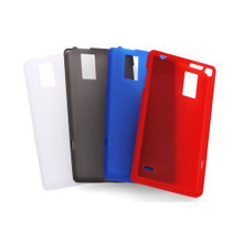 L-01E Soft Cover + Screen protector set