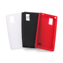 L-01E Silicone Cover + Screen protector set
