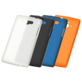 SH-07E Silicone Cover + Screen protector set