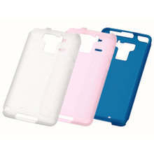 F-07E Silicone Cover + Screen protector set