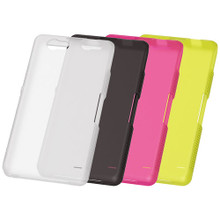 SO-02F Soft Cover + Screen protector set