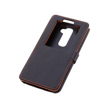 L-01F Black Leather case