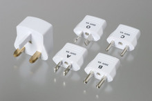 AC Adapter Electrical Socket Converter Plug set