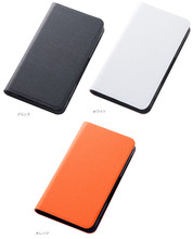 F-02G Slim Leather Book Cover Case