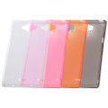 SH-01G & SH-02G Slim Soft Cover + Screen protector set