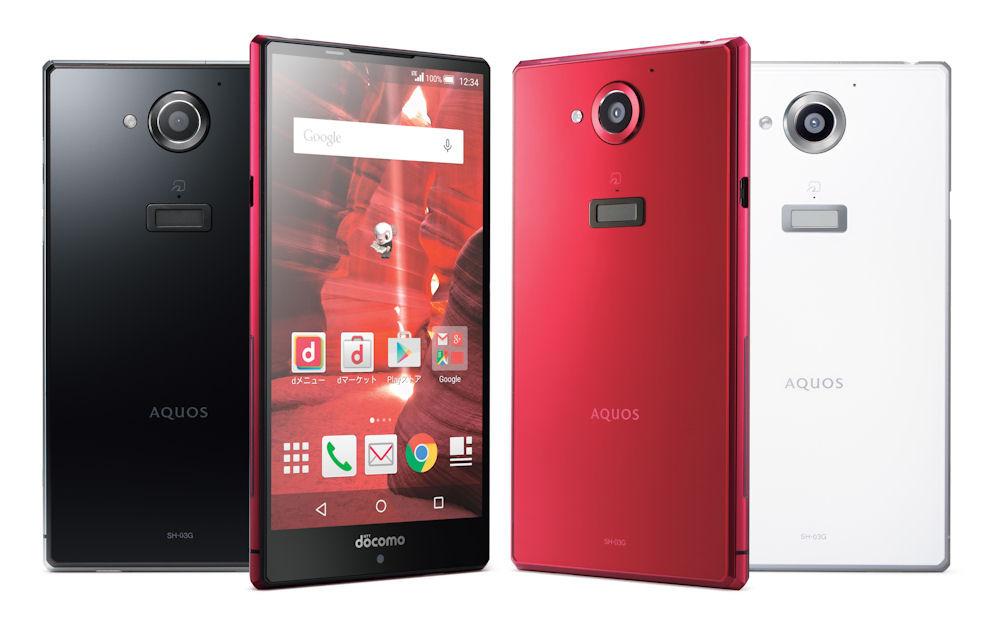 Sharp SH-03G Aquos Zeta Metal illumination Phone Unlocked