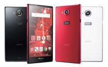 Docomo Sharp SH-03G Aquos Zeta Phone