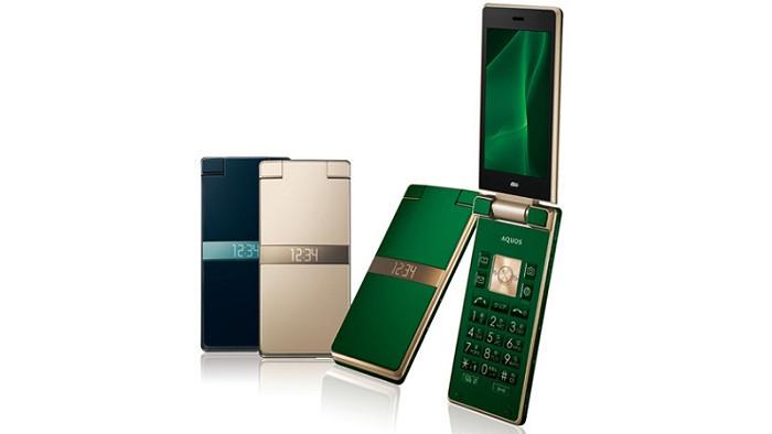 AU KDDI Sharp SHF33 Aquos K3 Android Flip Phone Unlocked