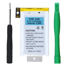 BasAcc Compatible Li-ion Battery with Tools for Apple iPhone 3GS