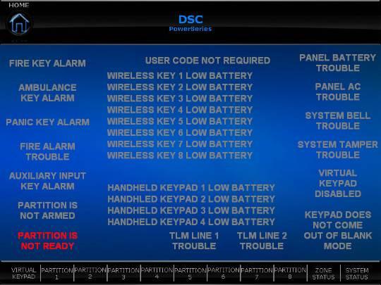 Dsc Power Series Keypads