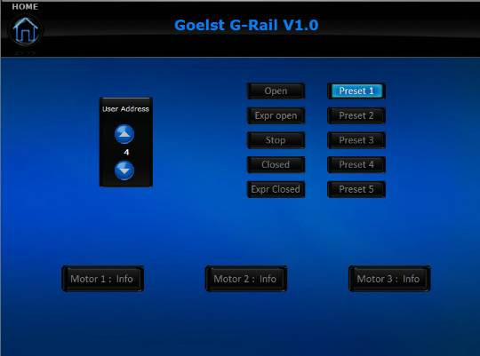 G Rail Goelst.Goelst G Rail Crestron Application Market