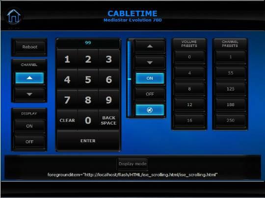 Cabletime MediaStar Evolution 780 - Crestron Application Market
