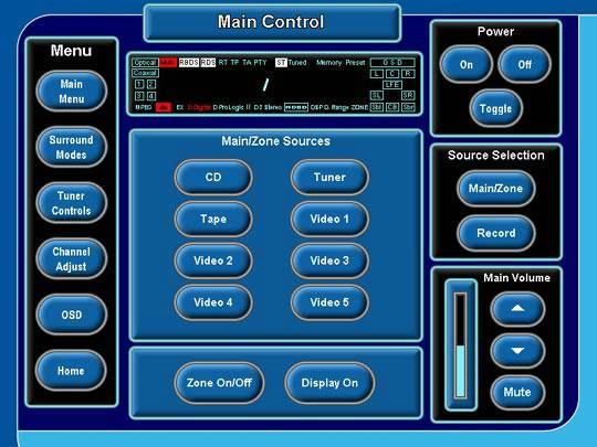 Rotel RSX-1056 (North America) - Crestron Application Market