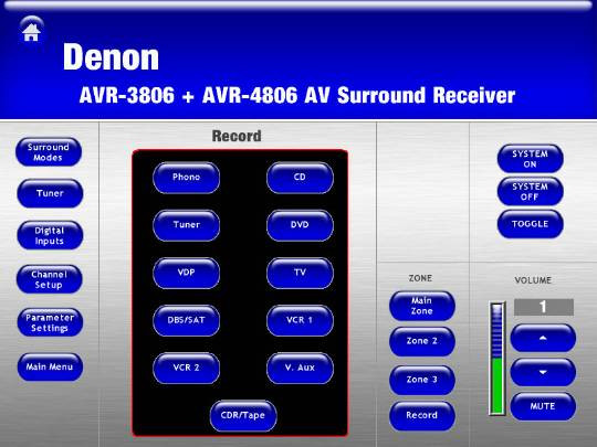 Denon Electronics AVR-3806 (North America) - Crestron Application Market