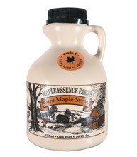 1 Pint Grade A Amber Pure Wisconsin Maple Syrup